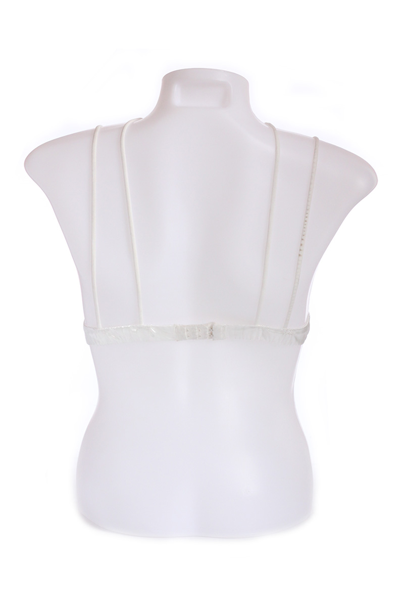 Silver Choker Design Silk Bralette (Free Size)