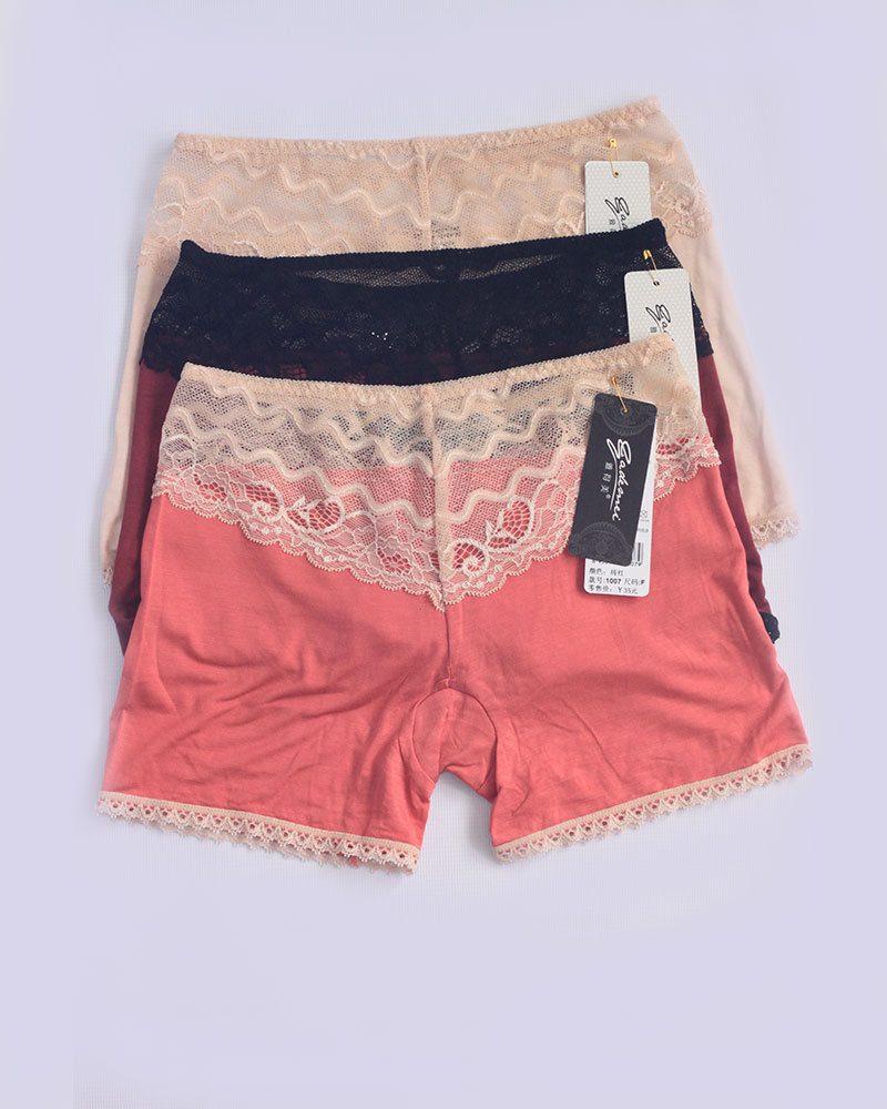 Pack of 3 Lacy Boyshort Panties Combo