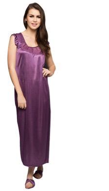 Dark Purple Night Gown