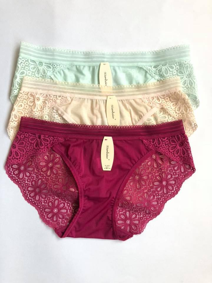Pack Of 3 Net Panties  Combo 2