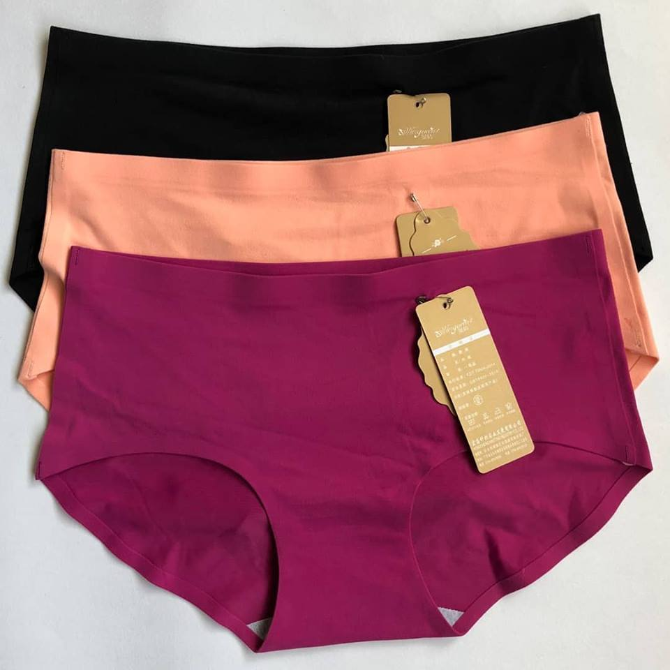 Pack Of 3 Cotton Seamless Panties Combo 2