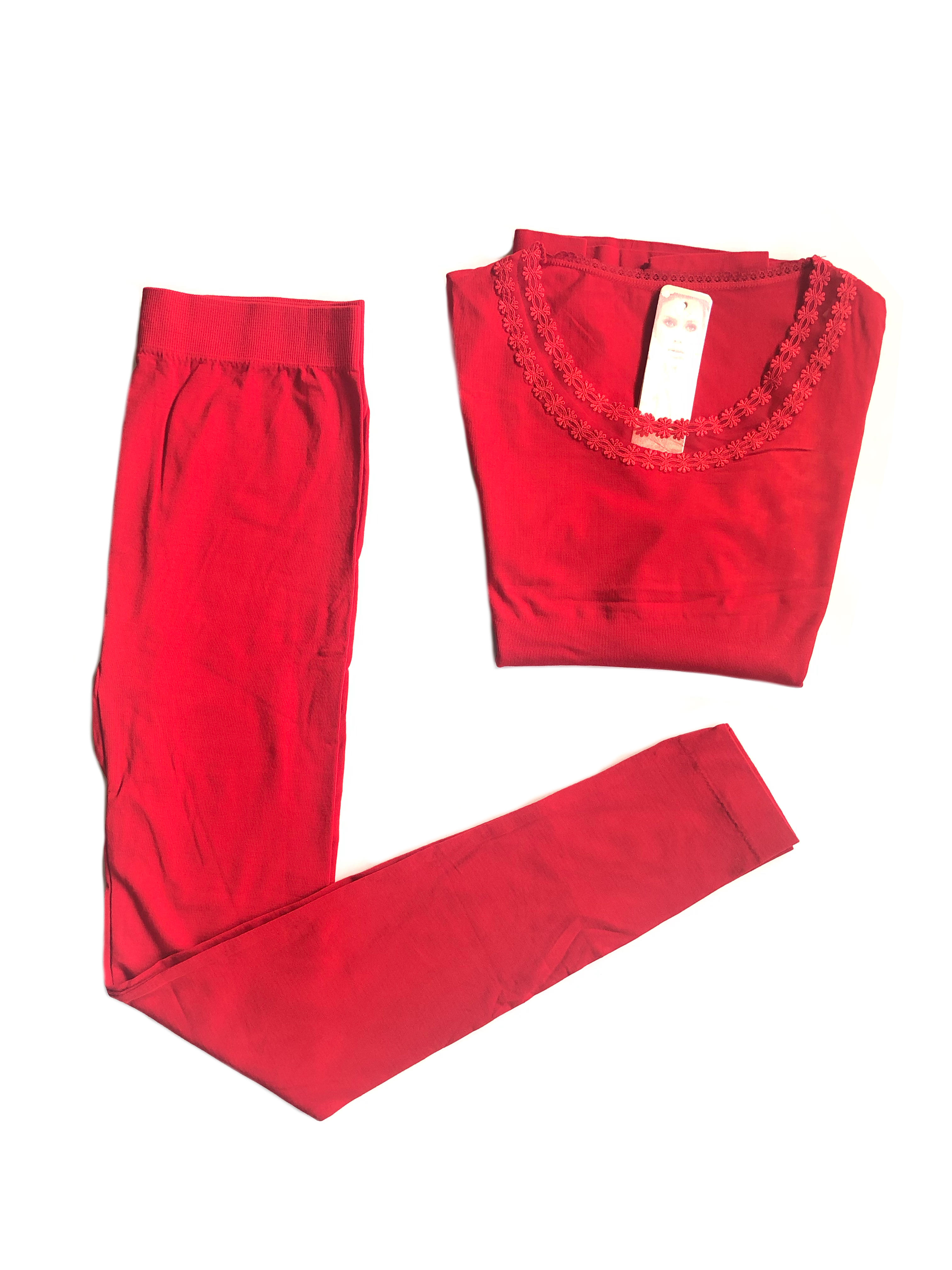 Red Thin Thermal Set