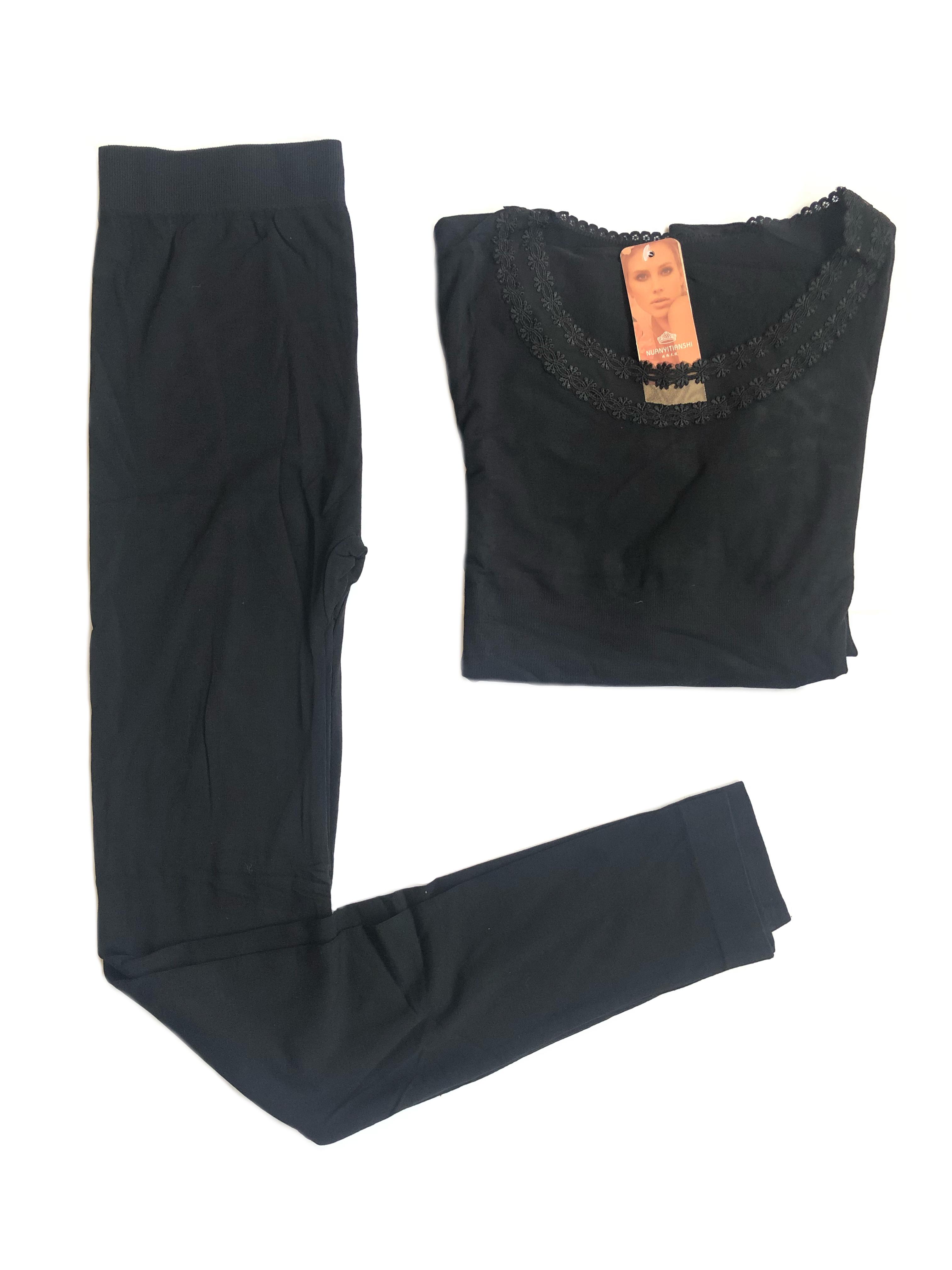 Black Thin Thermal Set