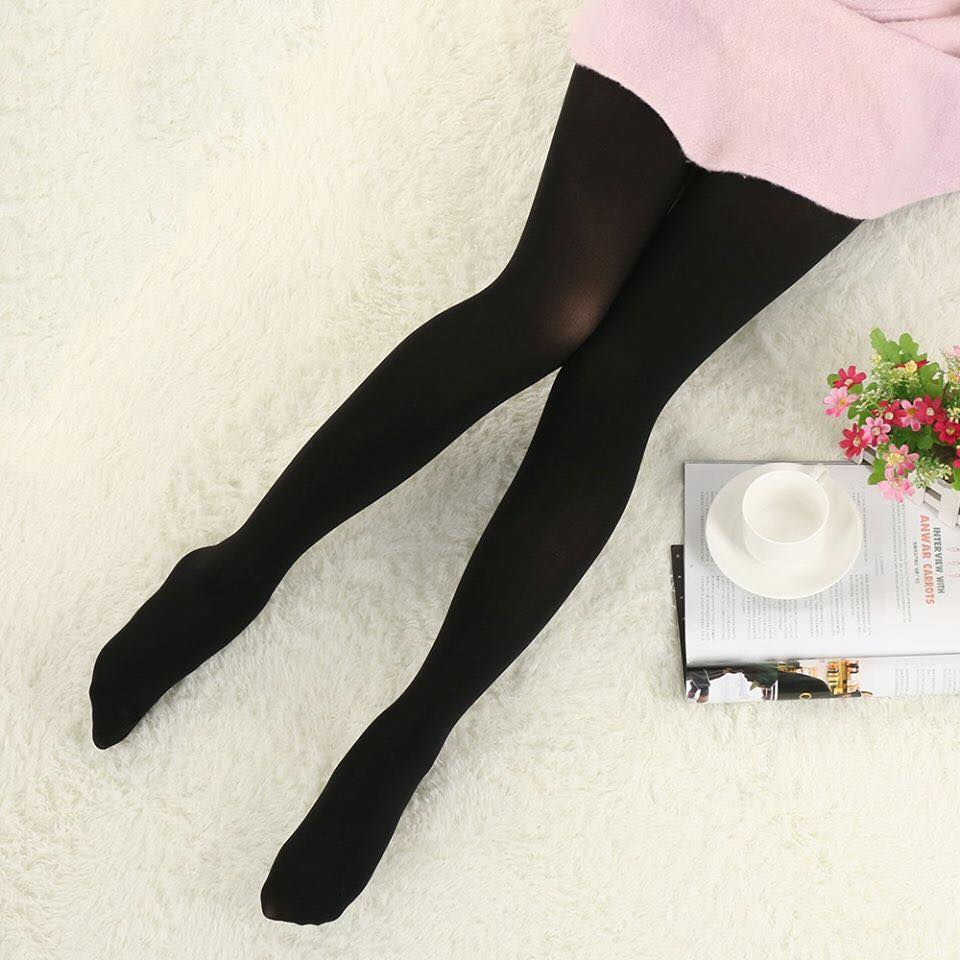 Black Transparent Thin Stockings