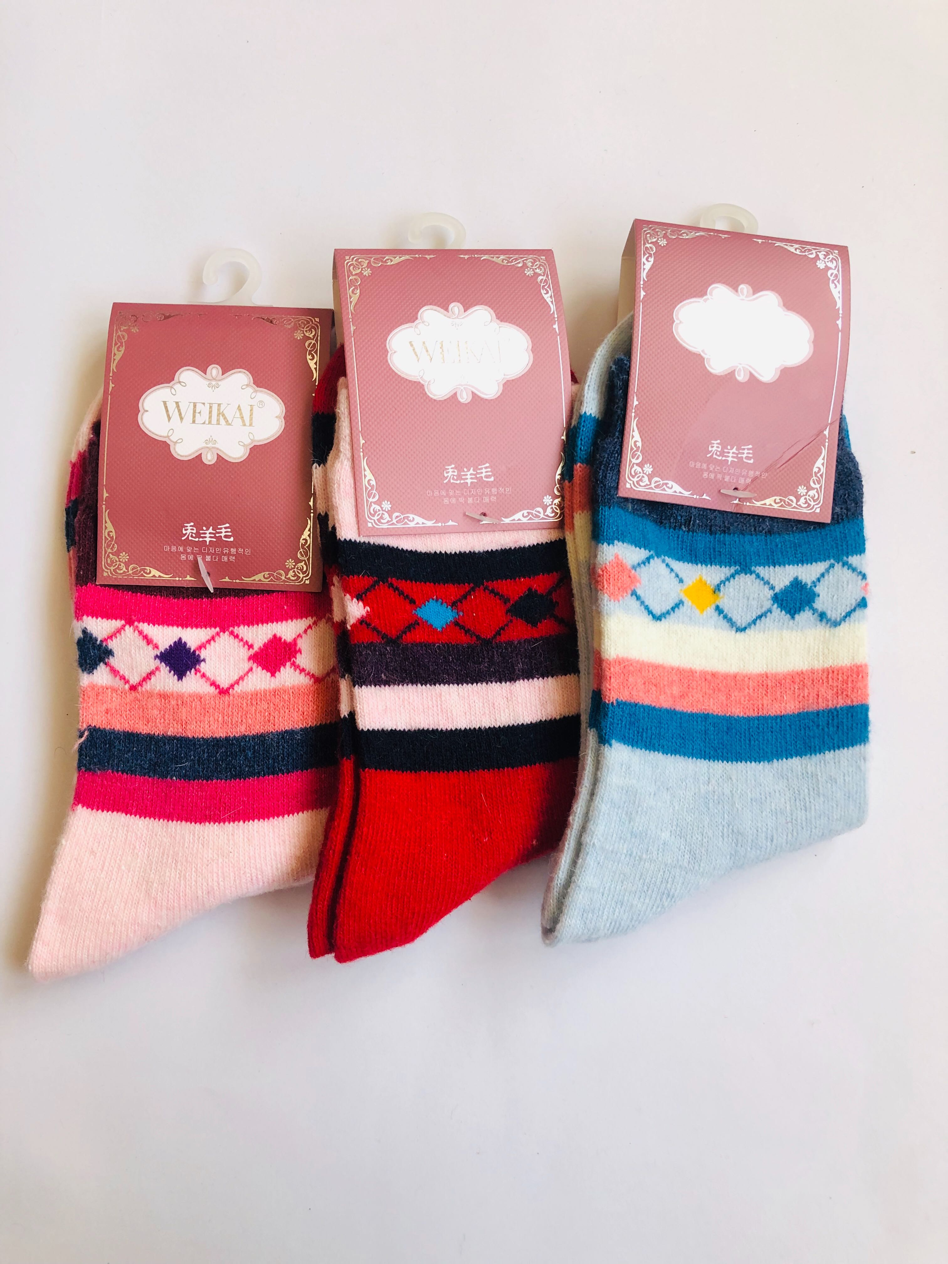 Pack Of 3 Printed Socks Combo