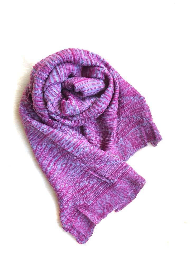 Pink Woolen Scarf