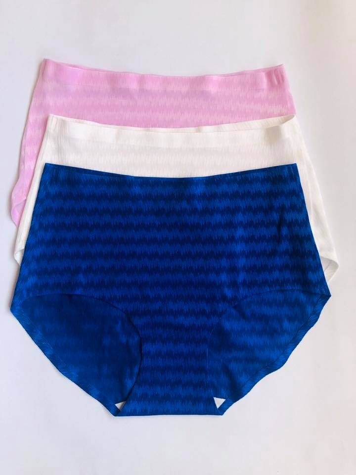 Pack of 3 Seamless HighWaist Silk Panties Combo 3