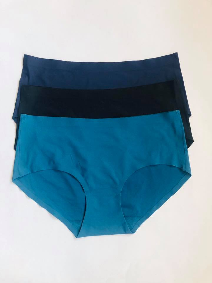 Pack Of 3 Seamless Plain Panties Combo 3