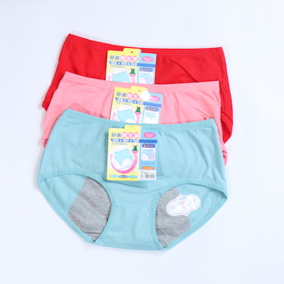 Pack Of 3 Cotton Period Panties Combo 2