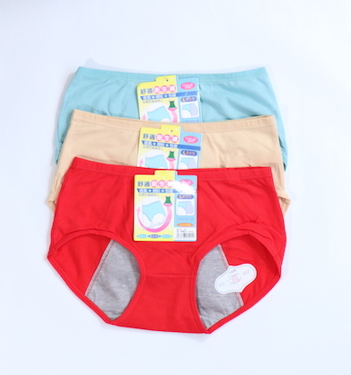 Pack Of 3 Cotton Period Panties Combo 3