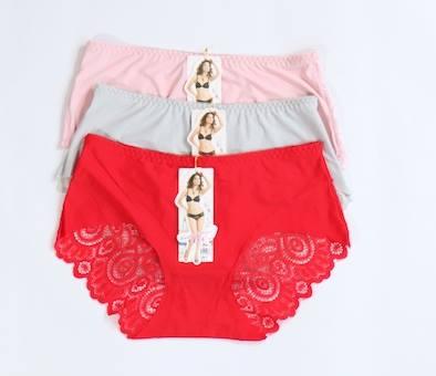 Pack Of 3 Back Net Seamless Panties Combo 1