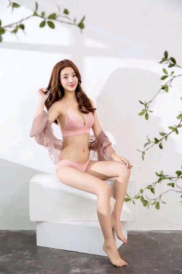 Light Pink Net Bra & Panty Set