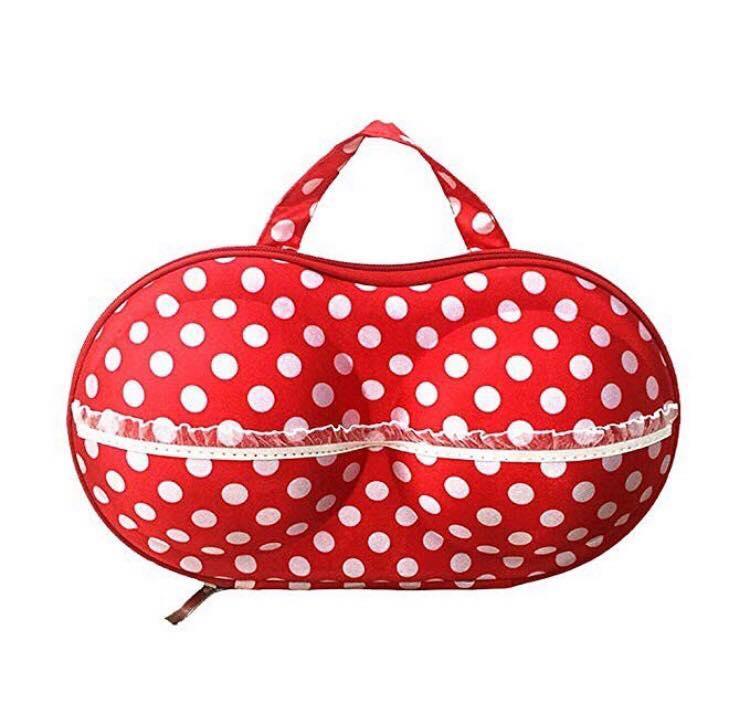 Dotted Portable Bra Storage Bag