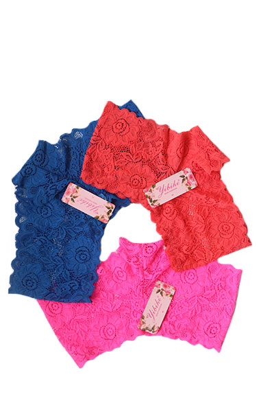 Pack Of 3 Lowwaist Front Bow Design Lace Panty