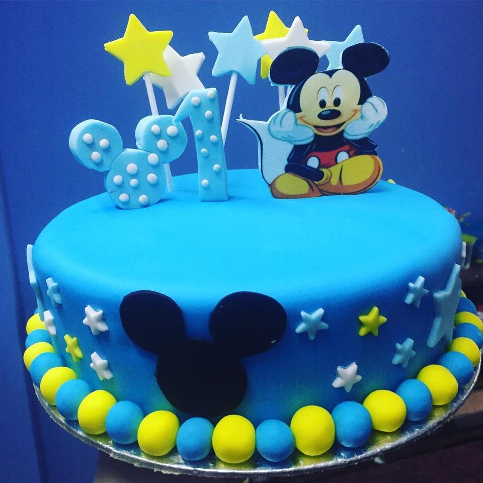 Kids Birthday Design Cake